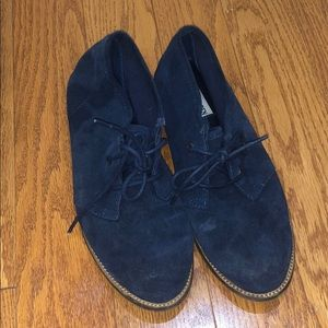 Navy blue Steve Madden shoes